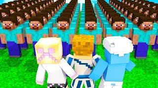 SKYBLOCK VS 100 WIDZÓW❗ | Minecraft Skyblock S2 #SPECIAL