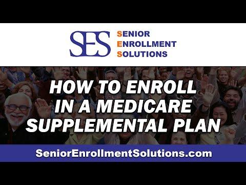 How to Enroll in a Medicare Supplemental Plan | SES Senior Enrollment Solutions