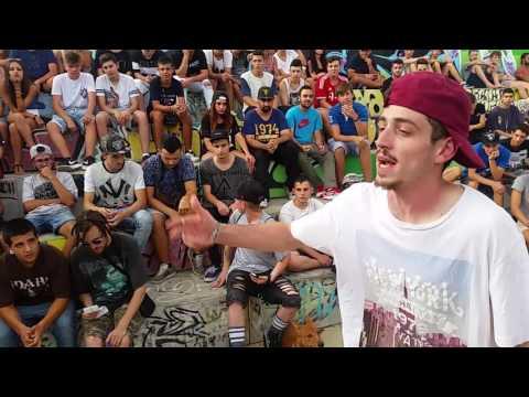 JOTAPINCHE VS JAY SARF Filtros Batallas de Gallos Reus Skatepark