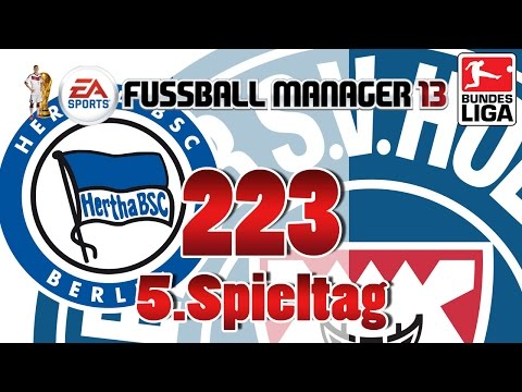 Fussball manager lets play 223 5 spieltag  hertha bsc berlin fm 2014 karriere