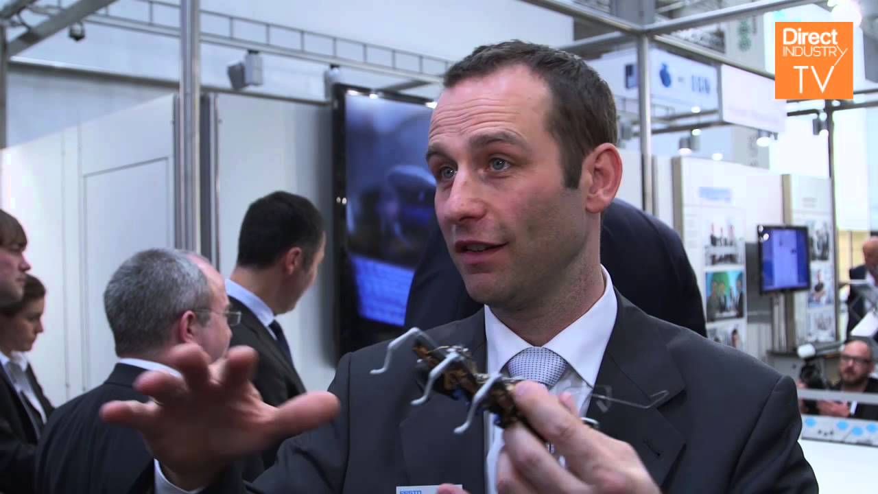 DirectIndustry e-magazine | Festo presents the BionicAnts at Hannover Messe