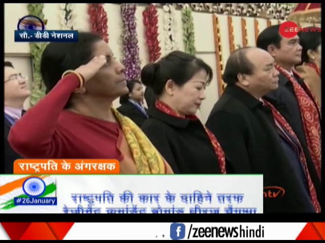 Republic Day: National Anthem plays at Rajpath