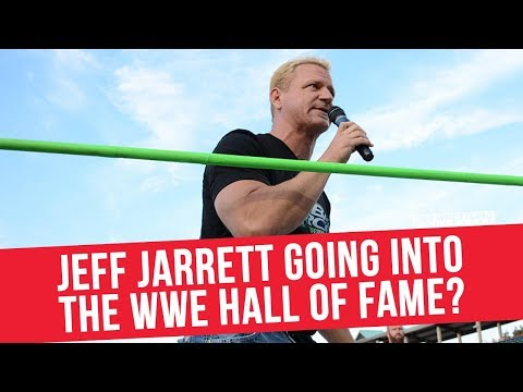 Jeff Jarrett Going Into The WWE Hall Of Fame?
