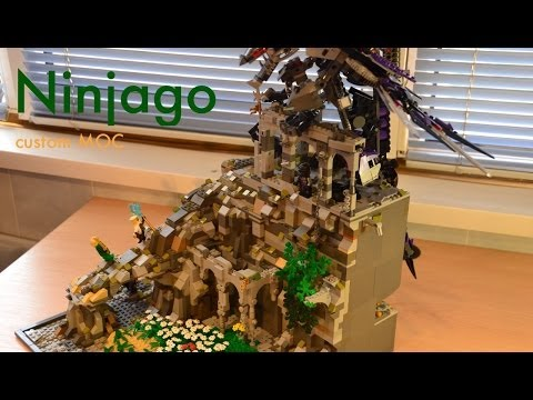 Lego Ninjago custom MOC - Battle on the Mountain