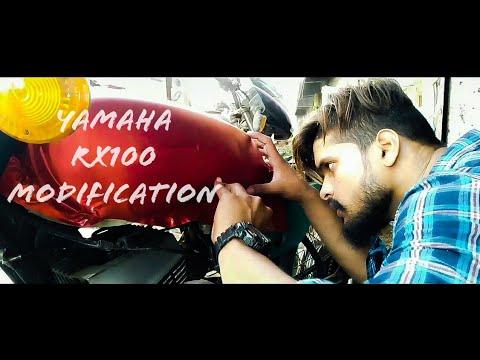 Yamaha RX100 modification   #FriendsRadiumArt