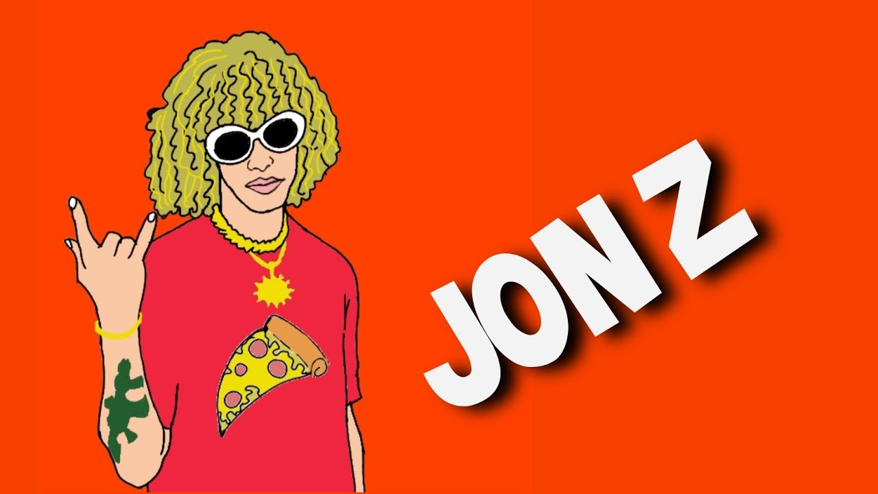 Como Dibujar A JON Z - YouTube