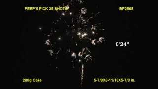 Peeps' Pick BP2565 Brothers Pyrotechnics by Red Apple Fireworks