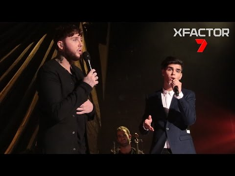 Vlado performs 'Say You Won't Let Go' with James Arthur - The X Factor Australia 2016