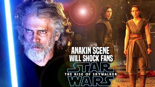 The Rise Of Skywalker Anakin Scene Will Shock Fans! (Star Wars Episode 9)