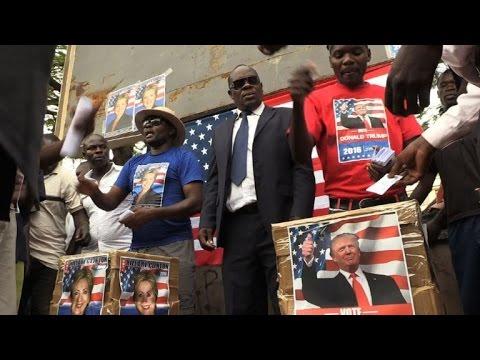Kenyans choose Clinton over Trump in mock US election