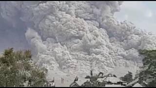 Gunung Sinabung Erupsi 2 Agustus 2017