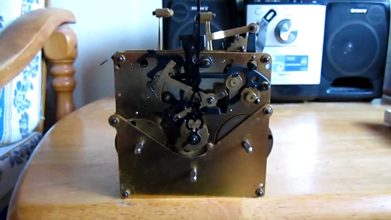 Jauch Triple Chime Wall Clock Movement Test Youtube