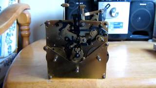 Jauch Triple Chime Wall Clock Movement (test)