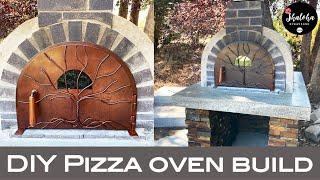 DIY Pizza Oven Build