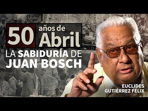 La sabiduría de Juan Bosch