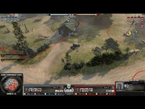 GCS Round 2: Barton vs. Korean Army G1 -  A TRUE CLASSIC! (Hans vs. Zarok spoilers)