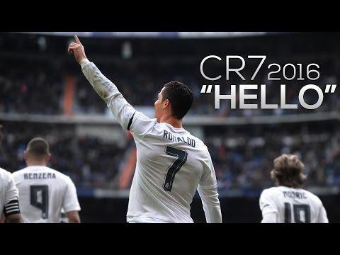 Cristiano Ronaldo 2016 ► Hello ft. Adele | Skills & Goals | 1080p HD