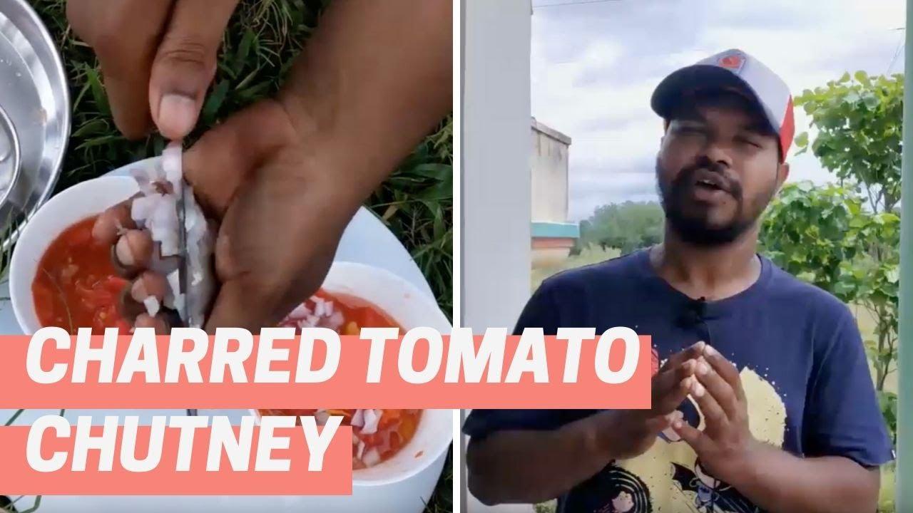 Simple tomato chutney recipe for quick meal | Desi Salsa recipe