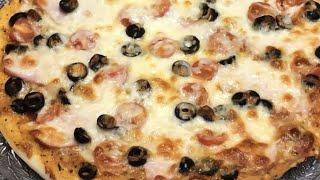 Пицца мясная Тесто для пиццы Соус для пиццы