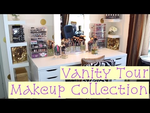 Vanity Tour | Makeup Collection