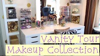 Vanity Tour   Makeup Collection