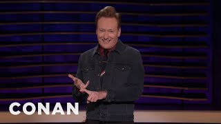 Conan Reveals How His Show Is Going To End - CONAN on TBS