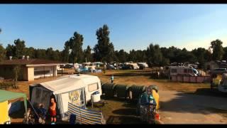 Camping 88 - Biała Mewa w Dźwirzynie  z lotu ptaka