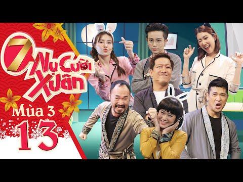 7 Nụ Cười Xuân   Mùa 3-Tập 13: Gil Lê chịu không nổi tuyệt chiêu mỹ nhân kế của Ninh Dương Lan Ngọc