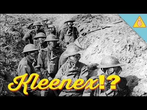 The Kleenex: Brought To You By German Chemical Weapons! - Thanks, Disaster!