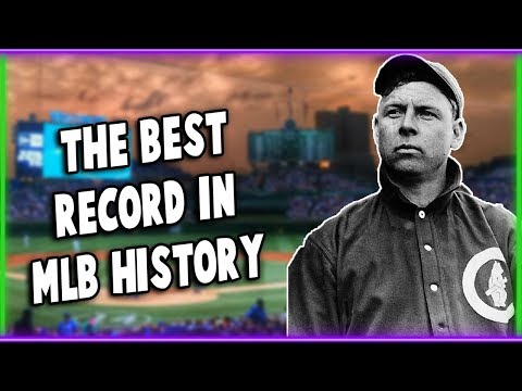 The 1906 Cubs: The Best Record In MLB History