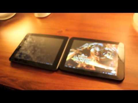 vergleich cat tablet pc 4 vs odys tablet pc 4 youtube. Black Bedroom Furniture Sets. Home Design Ideas