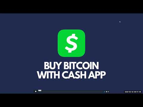 How To Buy Bitcoin With Cash App For Zmartbit