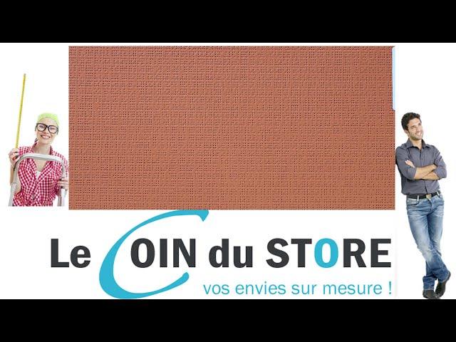 Toile PVC pour pergola et store Soltis Perform 92 Caramel rouge brique 50261 Serge Ferrari