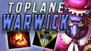 TOPLANE WARWICK | EZREAL JUNGLE GANKS TOO STRONG - Trick2G