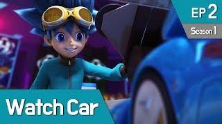Power Battle Watch Car S1 EP02 My Friend, Watch Car 02 (English Ver)