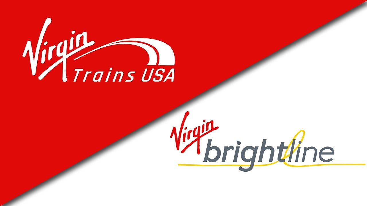 Virgin Trains USA or Virgin Brightline? FLORIDA'S HIGHER SPEED TRAIN Gets a  New Name