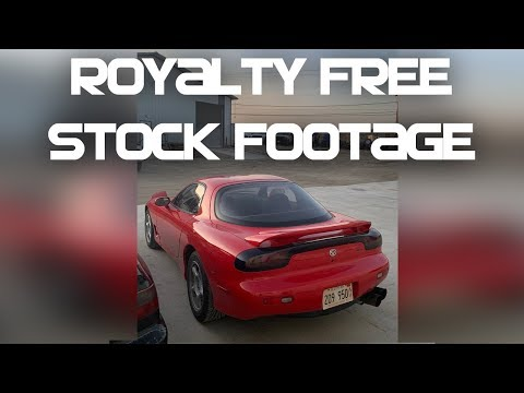 Royalty Free Mazda Rx-7 Video (Eunos Cosmo Too!)