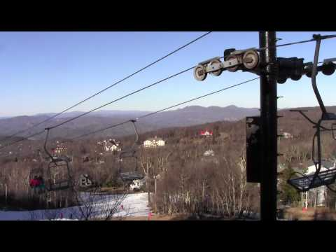 Beech Mountain Ski Lift Last Video Using Camcorder. Now GoPro And Ion Only