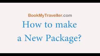 How to create a Holiday Package?