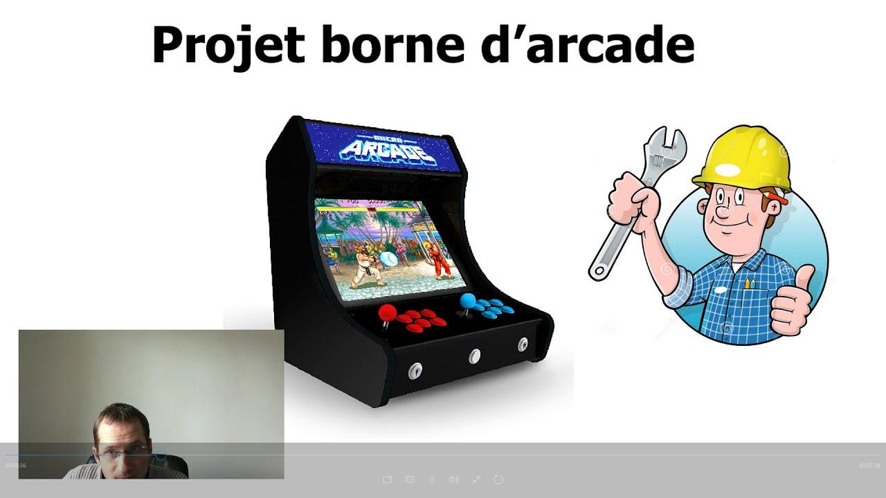 borne arcade tuto