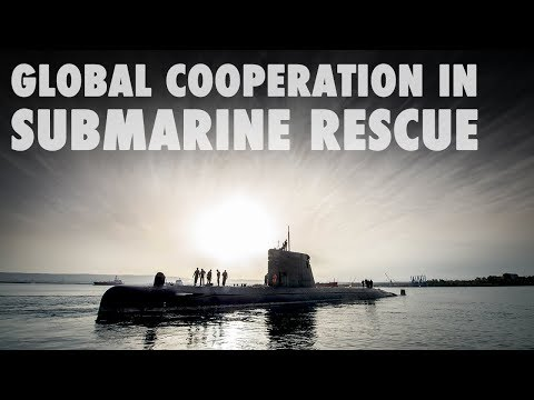 Global cooperation in submarine rescue