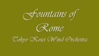 Fountains of Rome. Tokyo Kosei Wind Orchestra.