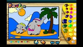 дошкольное обучение-Выбор и рисование животных - Pазвлекательныe и образовательные игры для детей