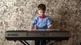 Играем на синтезаторе Yamaha PSR E443. Произведение ДА-ДА! (автор Г. Кен)