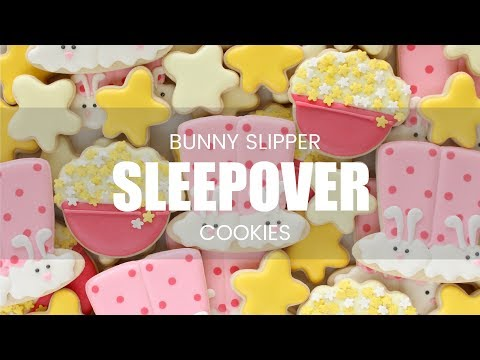 How to Make Bunny Slipper Pajama Bottom Cookies Extended