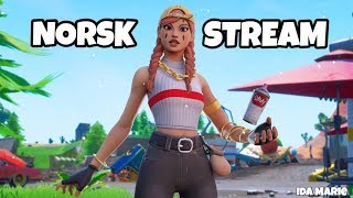 🔴 NORSK FORTNITE STREAM 💜 TRIO ARENA WITH SONDRE AND SAVAGE 💜 USE CODE IDAMARIEYT