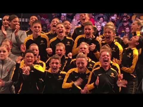 University of Iowa Dance Team Nationals 2017