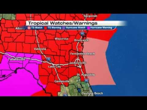 Breaking News Hurricane Made landfall packing 80Mph winds Tallahassee Fla