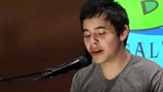 "David Archuleta sings ""A Thousand Miles"" live with Todd & Erin"