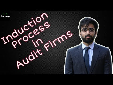 Induction Process In Audit Firms (Big 4 Audit Firms) : CA Legacy